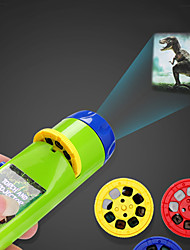cheap -Flashlights Dinosaur Fish Educational Toy Slide Projector Torch Projection Light Lovely Parent-Child Interaction 3 Films Child's for Birthday Gifts and Party Favors  Bedtime Night