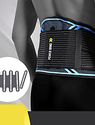 cheap -Back Brace Back Support / Lumbar Support Belt Waist Trimmer / Sauna Belt for Fitness Gym Workout Running Adjustable Muscle support Compression Tummy Fat Burner Sweat Out Men's Women's Nylon Emulsion