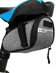 cheap -1 L Waterproof Bike Saddle Bag Bike Rack Bag Multifunctional Reflective Lightweight Bike Bag Terylene Bicycle Bag Cycle Bag Outdoor Exercise