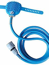 Недорогие -новый инструмент для купания домашних животных, удобный массажер, душ, очистка инструмента, стиральная ванна, распылители, щетка для собак, принадлежности для животных.