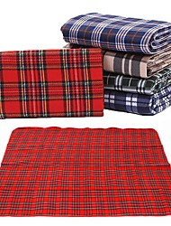 cheap -Picnic Blanket Outdoor Camping Anti-Slip Wearable Plush Fabric 150*250 cm for 5 person Climbing Camping / Hiking / Caving Traveling Spring Summer Red Blue / White Green