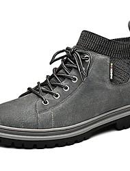 cheap -Men's Summer Outdoor Boots Suede Non-slipping Khaki / Beige / Gray