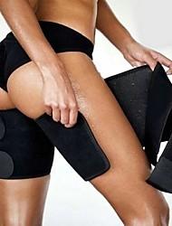 cheap -2pcs Leg Shaper Slimming Sauna Thigh Trimmers Warmer Slender Slimming Wraps Legs Thermo Neoprene Compress Belt Shaper Panty
