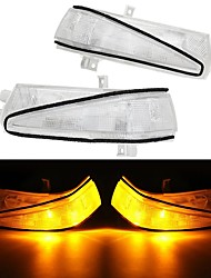 cheap -Right Rearview Mirror Side Turn Car Lights Amber LED For Honda Civic 2006-2011