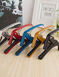 cheap -Guitar Capo Metal Aluminium Acoustic Guitar Ukulele Electric Guitar Lightweight String Instruments for Acoustic and Electric Guitars Musical Instrument Accessories 1 pcs