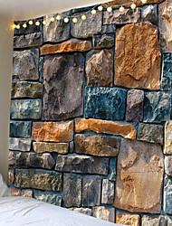 Недорогие -старинные 3d каменные кирпичи напечатаны гобелен гобелены большой размер гобелены дешевые хиппи бохо гобелен ткань мандалы