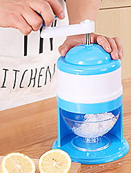 cheap -Ice Crusher Hand Shaved Smoothies Small Household Manual Grinding Smoothie Ice Machine Mini Ice Cutte D27 H15.5cm