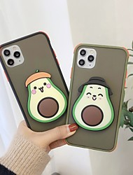 cheap -Case For Apple iPhone 11 / iPhone 11 Pro / iPhone 11 Pro Max Shockproof / with Stand Back Cover Cartoon Plastic