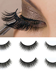 cheap -Eyelash Extensions 1 pcs Fashionable Design Durable lasting Waterproof Lifted lashes Curly Fiber Halloween Daily Formal Evening Full Strip Lashes - Makeup Daily Makeup Party Makeup Traditional Fashion