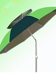cheap -2m Universal Double Aluminum Pole Fishing Umbrella Set Sun Umbrella Umbrella With Ground Plug Windproof