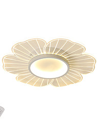 cheap -LED20W Ceiling Lights Modern Acylic Flush Mount Lights for Bedroom Dia42CM White Light / Warm White Light / Dimmable with Remote