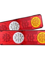 Недорогие -2 шт. 24 В 36 из светодиодов автомобильный прицеп грузовик задний тормоз стоп сигнал поворота задний противотуманный фонарь
