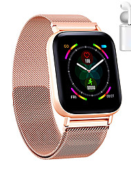 cheap -JSBP PQ10 Women Smart Bracelet Smartwatch Full Screen Touch BT Fitness Equipment Monitor Waterproof with TWS Bluetooth Wireless Headphones  for Android Samsung/Huawei/Xiaomi iOS Mobile Phone