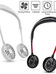 cheap -Wearable Lazy Sports Halter Fan Mini Hanging Neck Fan USB Rechargeable Cover Halter Sports Fan Air Cooler Outdoor