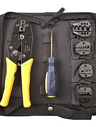 cheap -Professional Multitool 4 In 1 Wire Crimpers Engineering Ratcheting Terminal Crimping Pliers Wire Stripper Tools Set