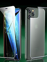 Недорогие -фронт&усилитель; Защитная пленка для Apple iPhone 11/11 Pro / 11 Pro Max с высоким разрешением (HD) закаленное стекло