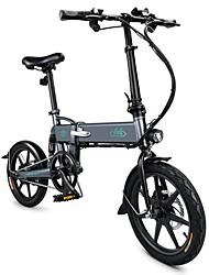 Недорогие -fiido d2 складной электрический велосипед мопеда городской велосипед пригородный велосипед три режима езды 16-дюймовые шины 250 Вт мотор 25 км / ч 7.8ah литиевая батарея 20-35 км