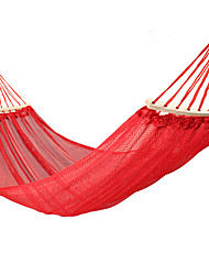 cheap -Camping Hammock Outdoor Breathability Wearable Reusable Adjustable Flexible Folding Stainless steel Nylon PVA for 1 person Hunting Hiking Beach Blue Red Green 280*125*200 cm Pop Up Design