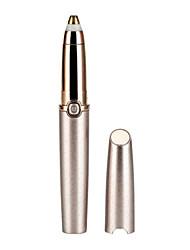 Недорогие -Новый электрический триммер для бровей, уход за глазами, губная помада, макияж для бровей, карандаш для удаления волос, безболезненная бритва для бровей, эпилятор со светодиодной подсветкой.
