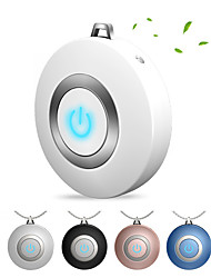 cheap -Wearable Air Purifier Necklace Mini Portable USB Air Cleaner Negative Ion Generator Low Noise Air Freshener Fight flu