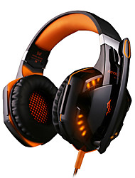 cheap -G2000 Gaming Headsets Big Headphones with Light Mic Stereo Earphones Deep Bass for PC Computer Gamer Laptop PS4 New X-BOX