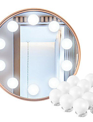 cheap -Hollywood Style LED Vanity Mirror Lights Kit with Dimmable Light Bulbs Lighting Fixture Strip for Makeup Vanity Table Set in Dressing Room (Mirror Not Include)