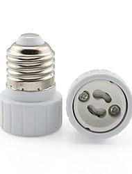 cheap -E27 to GU10 Base LED Light  Lamp Bulb Fireproof Holder Adapter Converter Universal Light Converter Socket Change *1pc
