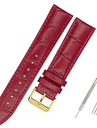 cheap -Genuine Leather / Leather / Calf Hair Watch Band Black / White / Blue Other / 17cm / 6.69 Inches / 19cm / 7.48 Inches 1.2cm / 0.47 Inches / 1.3cm / 0.5 Inches / 1.4cm / 0.55 Inches