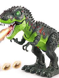 cheap -Dinosaur Toy R / C Walking Dinosaur Holiday Electronic Walking Remote Control with Moving Head, Lights, Roaring Sounds Party Favors Kid's Adults' Party Favors, Science Gift Education Toys for Kids