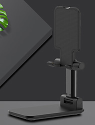 cheap -Stylish Appearance Mobile Phone Support Desktop Live Tablet Support Folding Lifting Telescopic Metal Bracket