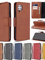Недорогие -Чехол для Huawei P40 Pro P40 Lite телефон чехол из искусственной кожи материал овец шаблон сплошной цвет рисунка Чехол для телефона для P40 Lite E P30 Lite P30 Pro P30 P20 Lite P20 Pro