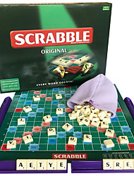 cheap -Board Game Scrabble Plastic Kid's Adults' Unisex Toys Gifts