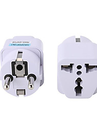 cheap -Multifunction EU German Conversion Plug To Universal French Russian Bali The maldives Thailand Transform Plugs Travel Adapter