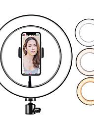 cheap -26cm Diameter Fill Light Ring LED Ring Lamp Photo Video Camera Phone Light ringlight 3 Modes Dimmable For Mobile Phones