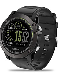 Недорогие -Zeblaze VIBE3 HR Универсальные Смарт Часы Android iOS Bluetooth Водонепроницаемый GPS Пульсомер Измерение кровяного давления Израсходовано калорий ЭКГ + PPG