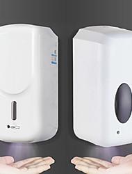 Недорогие -бесконтактный автоматический дозатор жидкости большой объем 1000 мл автоматический индукционный бесконтактный настенный дозатор