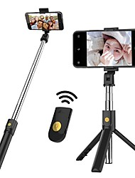 cheap -Selfie Stick Bluetooth Extendable Max Length 70 cm For Universal Android / iOS Universal