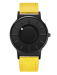 cheap -Men's Sport Watch Japanese Quartz Stainless Steel Day Date Analog Fashion Cool - Black Yellow Green One Year Battery Life