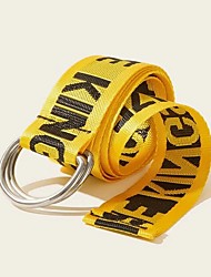 cheap -Men's / Women's Active / Basic / Cute Waist Belt - Solid Colored