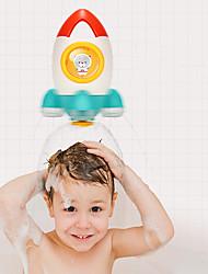 Недорогие -Игрушки для купания Игрушки для бассейна Игрушка для ванны с водой Игрушка для ванной Мультяшная тематика Космическая ракета Формованный пластик ABS Брызги воды Ванная комната Дети Лето