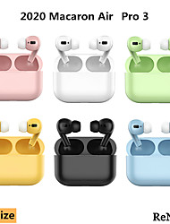 cheap -Macaron Air Pro 3 TWS Wireless Bluetooth Earbuds In-ear Stereo Earphone