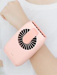 cheap -1Pcs Cute Portable Mini Fan Handheld USB Chargeable Desktop Fans 2 Mode Adjustable Summer Cooler For Outdoor Travel Office
