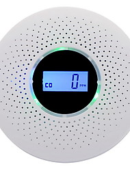cheap -Newest 2 in 1 LED Digital Gas Smoke Alarm Co Carbon Monoxide Detector Voice Warn Sensor Home Security Protection High Sensitive