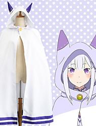 cheap -Inspired by Re:Zero Starting Life in Another World kara hajimeru isekai seikatsu Anime Cosplay Costumes Japanese Cosplay Suits Cloak For Women's