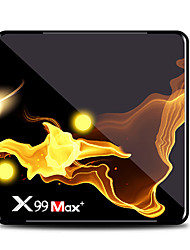 Недорогие -x99 max S905x3 ТВ-приставка двухдиапазонный Wi-Fi 1000 Мб 8 К ТВ-бокс