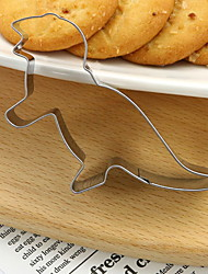 cheap -Cookie Cutter Dinosaur Cookie Mould Biscuit Mould 4PCS Animal Shape Biscuit Mold DIY Fondant Pastry Decorating Baking Kitchen Tools