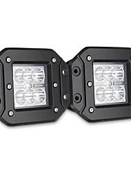 Недорогие -2 шт. 4 дюйма скрытого монтажа резервного копирования обратный задний бампер светодиодный рабочий свет для dodge ram 1500 2500 3500