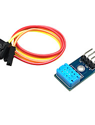 Недорогие -Цифровой датчик температуры и влажности модуля dht12, одиночная шина и связь i2c, совместимая с dht11