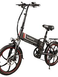 Недорогие -Samebike 20lvxd30 портативный складной умный электрический мопед велосипед 350 Вт мотор макс 35 км / ч 20 дюймов шины