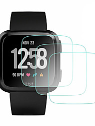 cheap -3 Pcs For Fitbit Versa  Fitbit Versa 2 Tempered Glass Smartwatch Screen Protector 9H Hardness